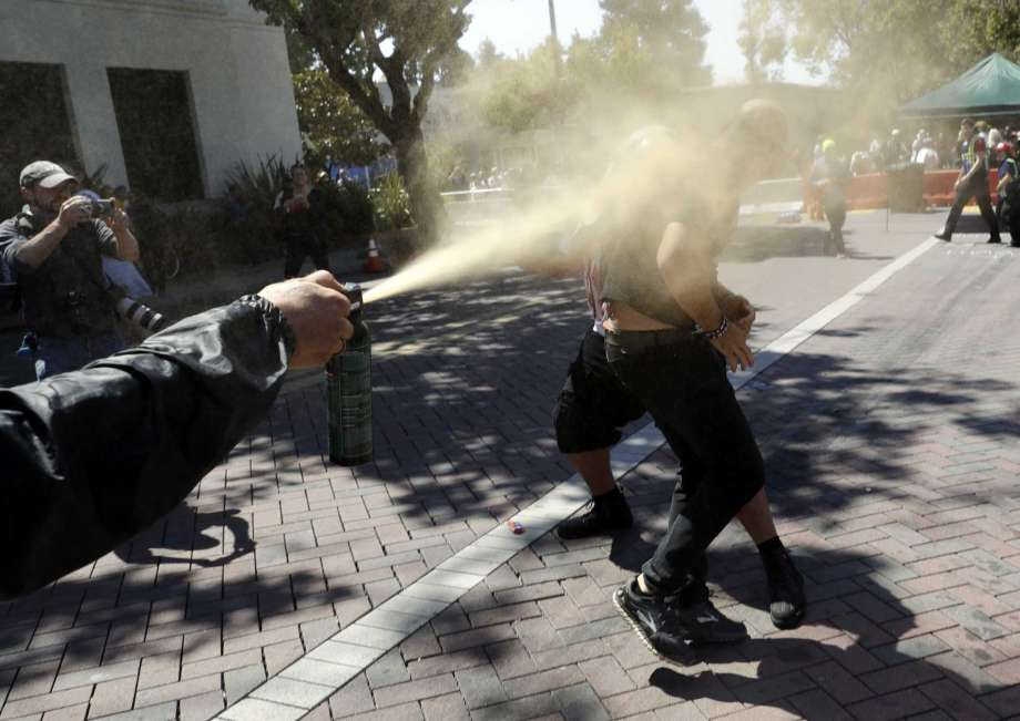 use of pepper spray legal