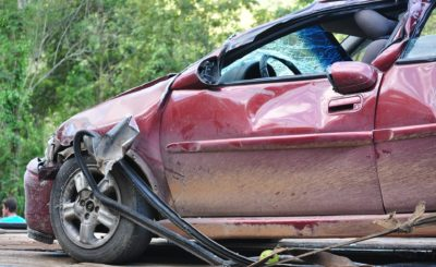 car accident property damage claim